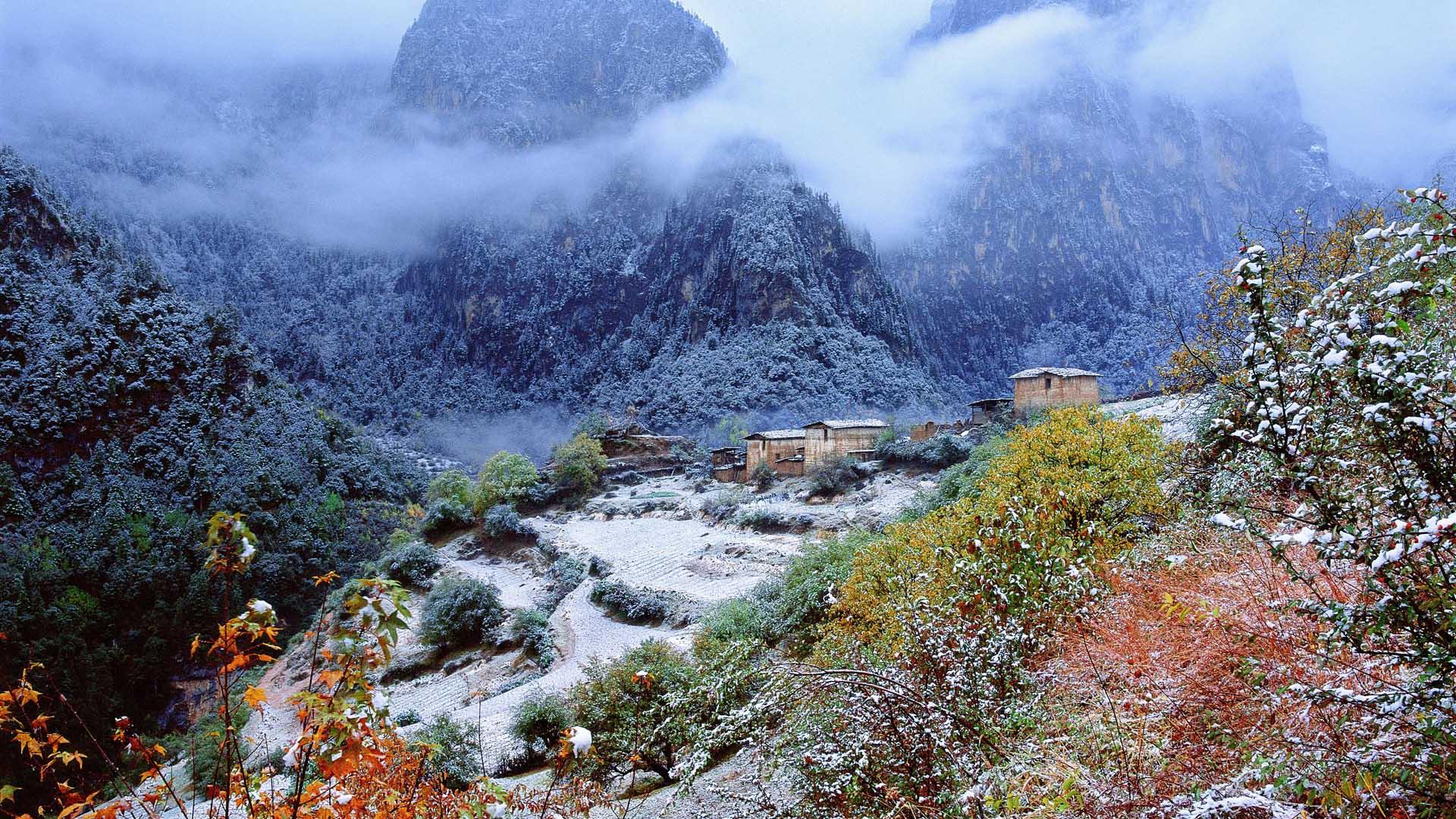 三江并流世界自然遗产:香格里拉大峡谷•巴拉格宗
