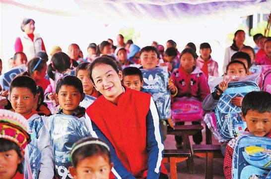 志愿者王兴梅:用心播撒爱的种子