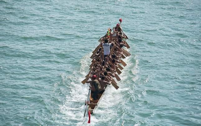 印度侨界举办龙舟文化节